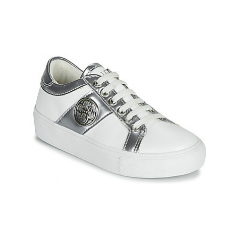Guess JEWEL girls's Children's Shoes (Trainers) in White