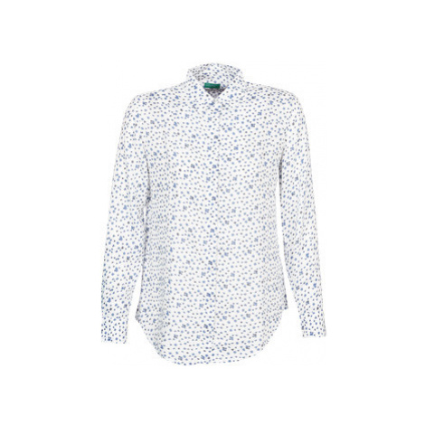 Benetton POLIFOU women's Shirt in White United Colors of Benetton