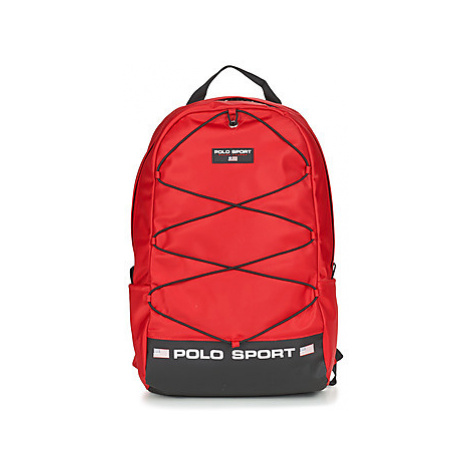 Red women's sports backpacks