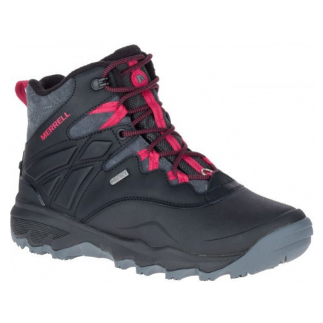 Merrell THERMO ADVNT ICE+ 6 WP black - Women's winter shoes