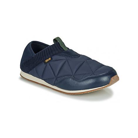 Teva EMBER MOC men's Slip-ons (Shoes) in Blue