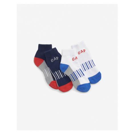 GAP Kids Socks 2 pairs Blue White
