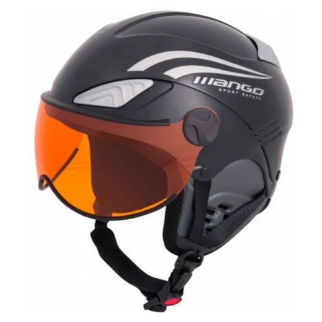 Mango ROCKY PRO black - Kids' ski helmet