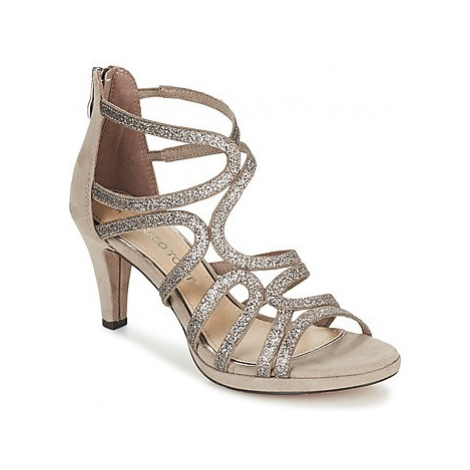 Marco Tozzi VISKIAL women's Sandals in Beige