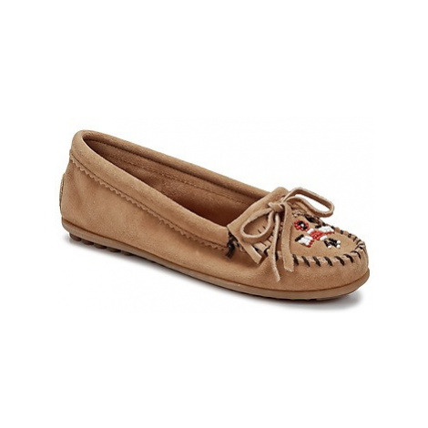 Minnetonka THUNDERBIRD II women's Loafers / Casual Shoes in Brown