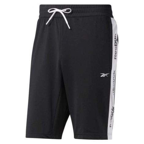 Reebok TE LINEAR LOGO SHORT black - Men's shorts