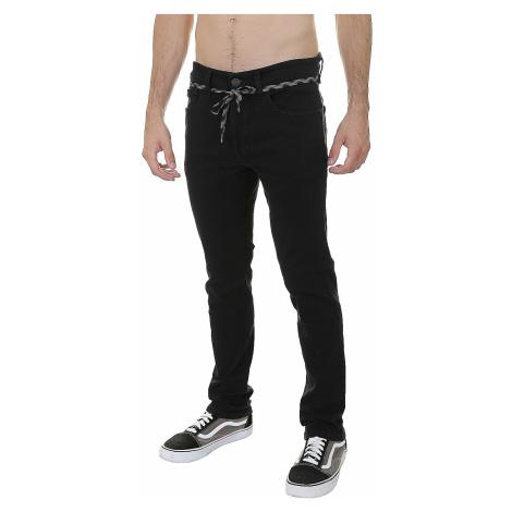 jeans Fox Dagger Slim - Black Vintage