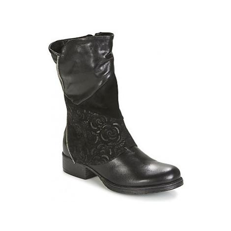 Dream in Green HANPI women's Mid Boots in Black