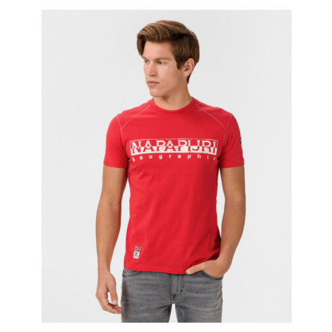 Napapijri Sishop T-shirt Red
