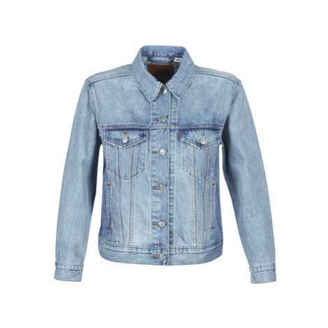 Levis EX-BOYFRIEND TRUCKER women's Denim jacket in Blue Levi´s