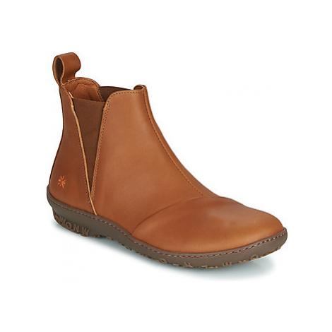 Art ANTIBES women's Mid Boots in Brown