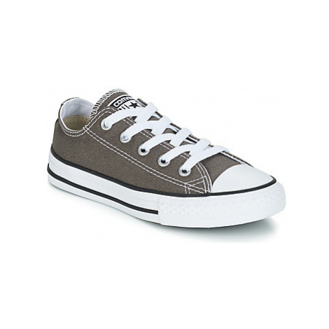 Converse ALL STAR OX girls's Children's Shoes (Trainers) in Grey
