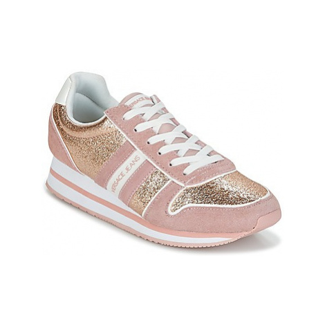 Versace Jeans Couture STELLA VRBSA1 women's Shoes (Trainers) in Pink