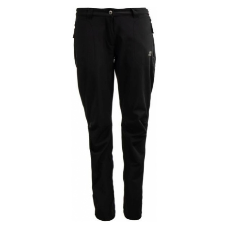 ALPINE PRO NAVA black - Women's softshell trousers