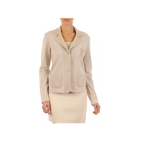 Majestic 244 women's Jacket in Beige