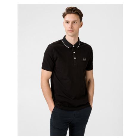 Armani Exchange Polo Shirt Black