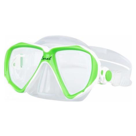 Finnsub CORAL JR MASK green - Children's diving mask