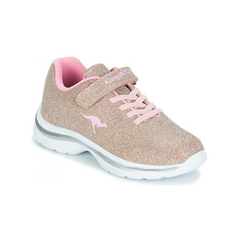 Kangaroos KANGASHINE EV II girls's Children's Shoes (Trainers) in Gold