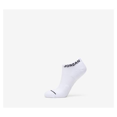 Jordan Everyday Max No Show 3 Pair Socks White/ White/ White/ Black