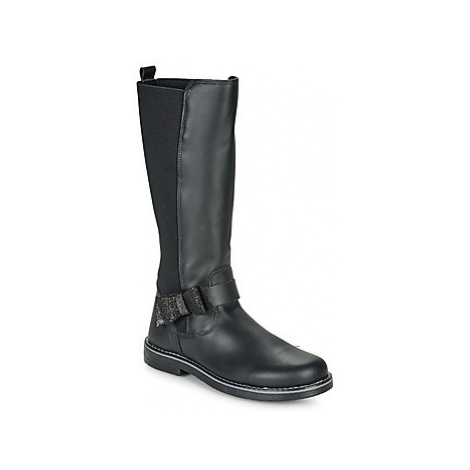 Citrouille et Compagnie LUMINE girls's Children's High Boots in Black