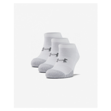 Under Armour HeatGear® Set of 3 pairs of socks White
