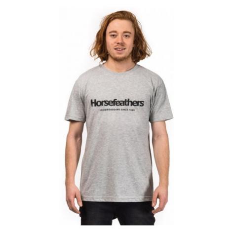 Horsefeathers QUARTER T-SHIRT gray - Men's T-shirt