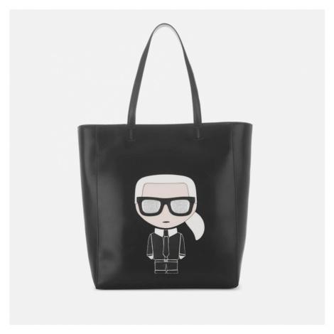 Karl Lagerfeld Women's K/Ikonik Soft Shopper Bag - Black