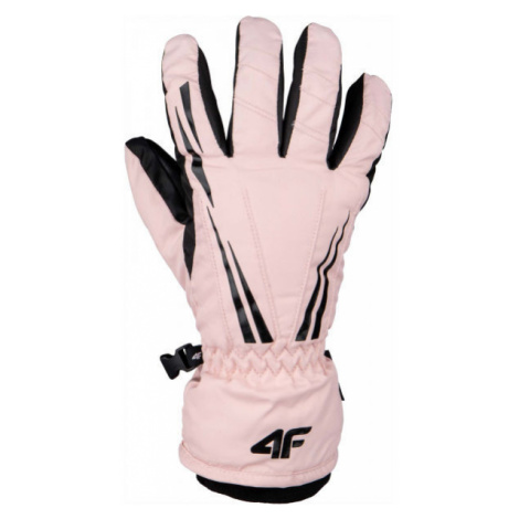 4F SKI GLOVES light pink - Ski gloves