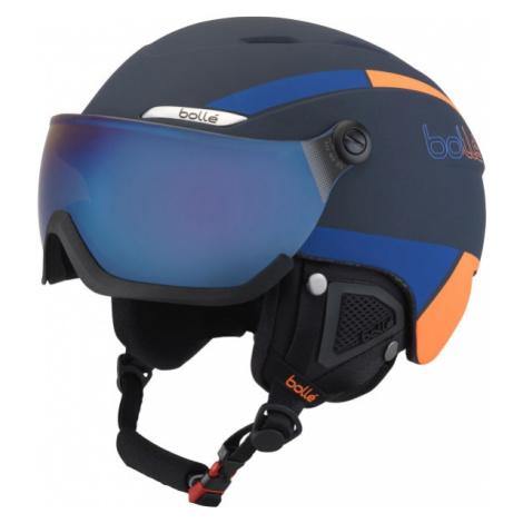 Bolle B-YOND VISOR dark blue - Ski helmet