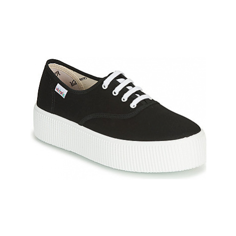 Victoria 1915 DOBLE LONA women's Shoes (Trainers) in Black