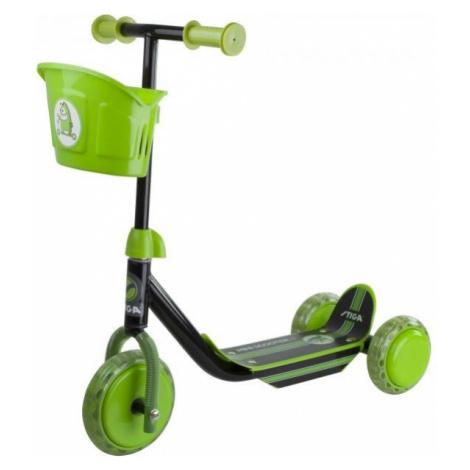 Stiga MINI KID 3W green - Children's kick scooter