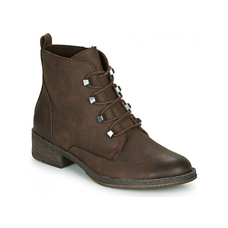 Marco Tozzi - women's Low Ankle Boots in Brown