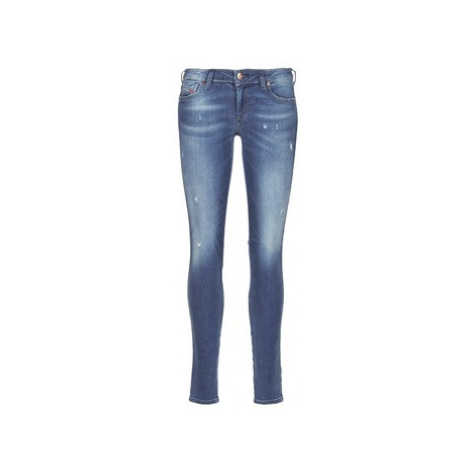 Diesel GRACEY women's Skinny Jeans in Blue