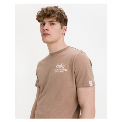 Replay Blue Jeans T-shirt Brown