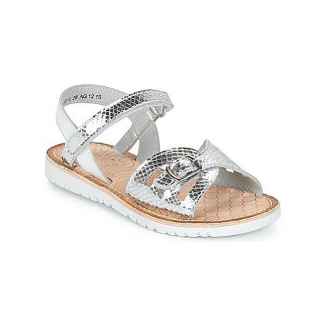 Mod'8 SHALYS girls's Children's Sandals in Silver