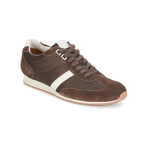 BOSS ORLANDO LOW PROFILE men's Shoes (Trainers) in Brown Hugo Boss