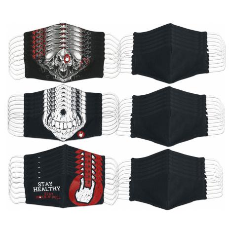 EMP - Mask Bundle - Mask - black/grey/red