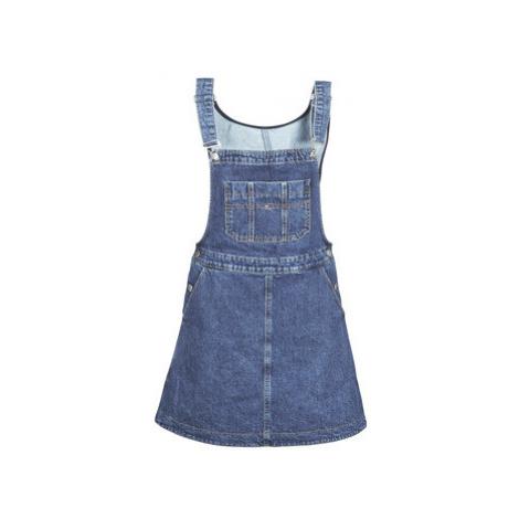 Tommy Jeans TJW A LINE DUNGAREE DRESS women's Dress in Blue Tommy Hilfiger