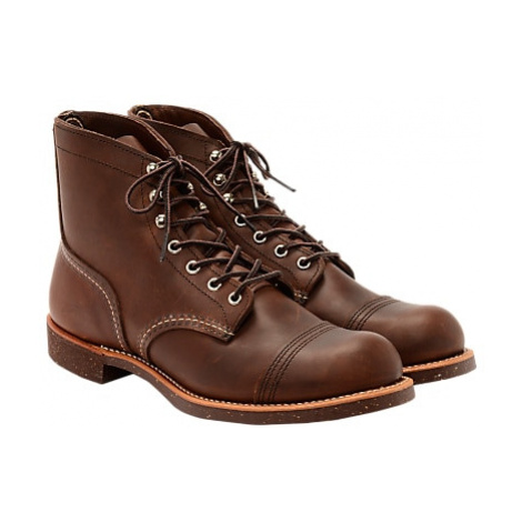 Red Wing 8111 Iron Ranger Boots, Amber Harness
