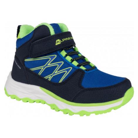 ALPINE PRO HALILO gray - Children's winter shoes