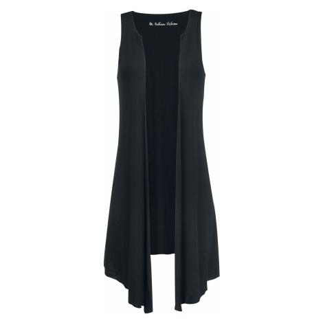Forplay Long Vest Vest black