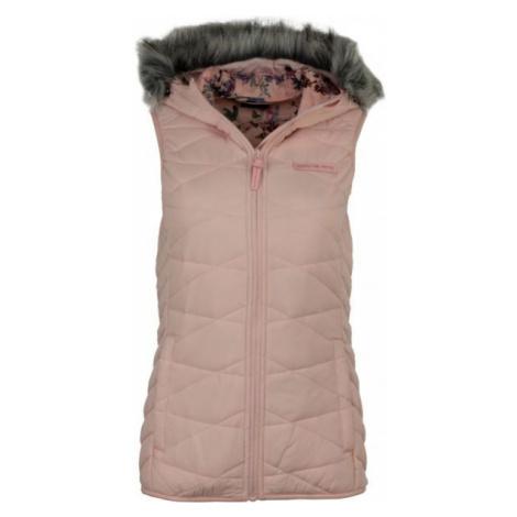 ALPINE PRO ESMA pink - Women's vest