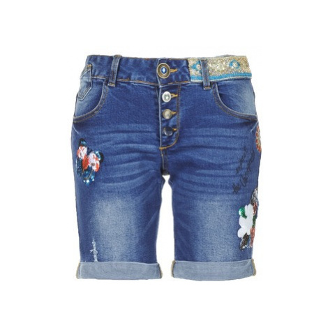 Desigual RANA women's Shorts in Blue
