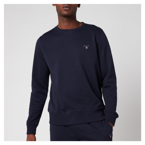GANT Men's Original Sweatshirt - Evening Blue