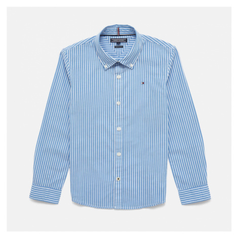 Tommy Kids Boys' Long Sleeve Stripe Shirt - Shirt Blue
