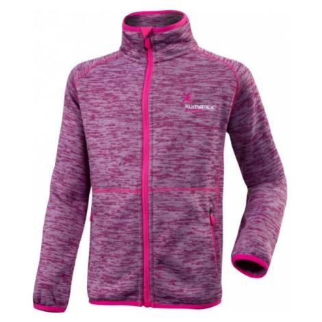 Klimatex SEM JNR pink - Kids' functional sweatshirt