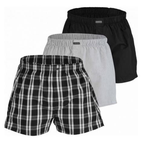 Calvin Klein BOXER WVN 3PK grey - Men's boxer briefs