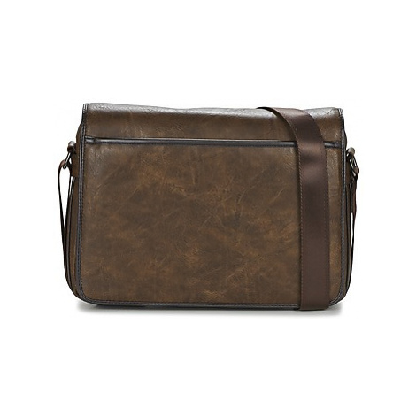 Casual Attitude FILOU men's Messenger bag in Brown
