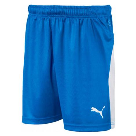 Puma LIGA SHORTS JR blue - Boys' sports shorts
