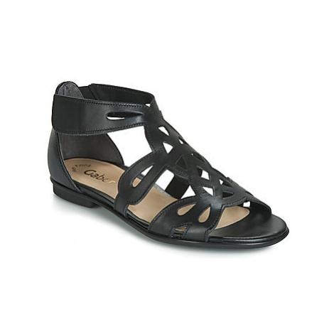 Gabor HORA women's Sandals in Black
